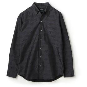 メンズビギ EASY CARE ビッグ千鳥クリスタルシンサーシャツ メンズ グレー系その他 SS 【Men's Bigi】