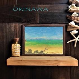【送料無料】南国の風景☆OKINAWA No.15 フレーム付