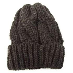 [ハイランド2000] ニットキャップ HIGHLAND2000 1G BC BOBCAP B.W. ウール100% ニット帽 英国製 メンズ レディース ユニセックス ボブキャップ 1gbc DGW(ブラウン) FREE