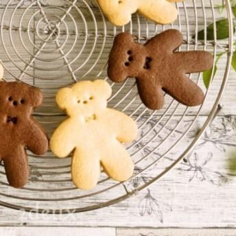 かわいいお茶菓子でほっと一息 くまさんクッキー5枚