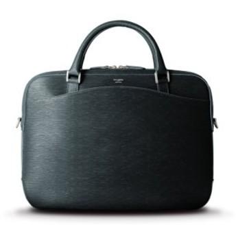 (Bag & Luggage SELECTION/カバンのセレクション)ペッレモルビダ キャピターノ ブリーフケース ビジネスバッグ 型押しレザー 革 メンズ B4 PELLE MORBIDA ca202/メンズ ネイビー 送料無料