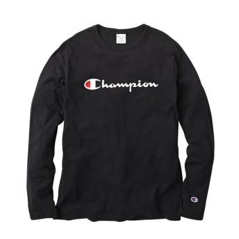 Champion(チャンピオン)ロゴプリント長袖Tシャツ Tシャツ・カットソー