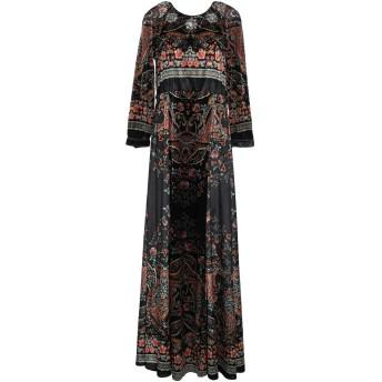 《セール開催中》BLACK CORAL レディース ロングワンピース&ドレス ブラック 40 ポリエステル 100%