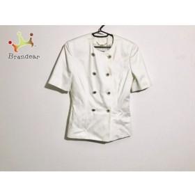 セリーヌ CELINE ジャケット サイズ36 S レディース 白 半袖 新着 20190819