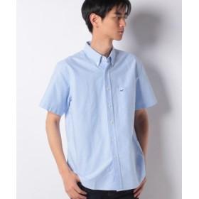 (EDWIN/エドウィン)EDWIN ボタンダウンシャツ 半袖(オックスフォード)/メンズ ライトブルー