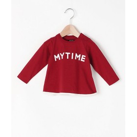 <ARCH & LINE/アーチ&ライン> Tシャツ MY TIME L/S TEE レッド 【三越・伊勢丹/公式】