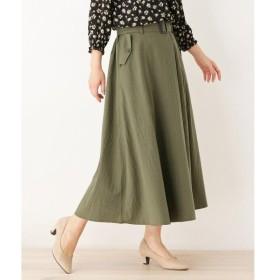 SHOO・LA・RUE / シューラルー 【WEB限定サイズあり】ラップ風タックデザインスカート