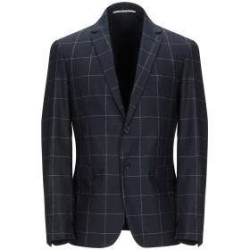 《期間限定セール開催中!》EXIBIT メンズ テーラードジャケット ダークブルー 46 ウール 50% / ナイロン 48% / 指定外繊維 2%