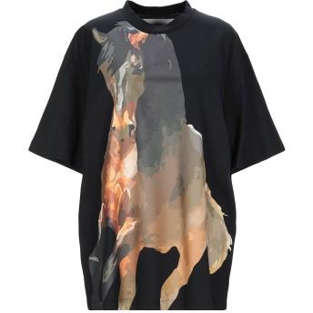 《9/20まで! 限定セール開催中》MARQUES' ALMEIDA レディース T シャツ ブラック XS コットン 100%