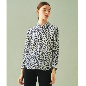TOMORROWLAND / トゥモローランド シルクレオパードプリント レギュラーシャツ