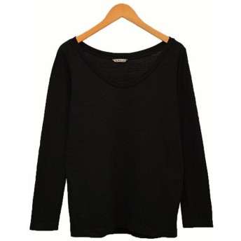 AURALEE 2018AW カットソー ロンT Tシャツ ブラック サイズ:1 (二子玉川店) 190819