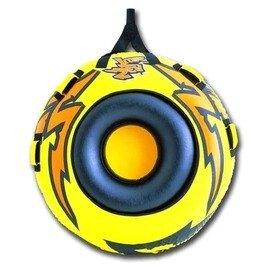 【充氣滑水圈-閃電號-直徑142cm-1套/組】海輝 圓形勁爆滑水圈充氣拖拉衝浪圈水上娛樂專用-76033