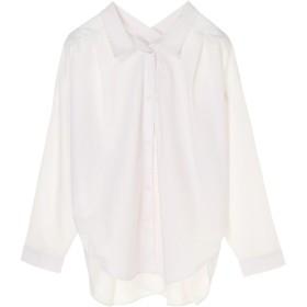 【6,000円(税込)以上のお買物で全国送料無料。】FURRYRATE カシュクールネックバックタックシャツ