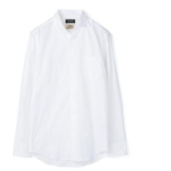 メンズビギ EASY CARE フラワージャガードシャツ メンズ ホワイト M 【Men's Bigi】