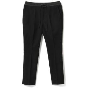 ビームス メン BEAMS / テトロンレーヨン ストレッチ イージーパンツ メンズ BLACK S 【BEAMS MEN】