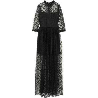 《セール開催中》ISABEL GARCIA レディース ロングワンピース&ドレス ブラック XS ポリエステル 90% / ナイロン 10%