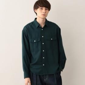【エムピー ストア(MP STORE)】 ビエラオフィサーシャツ ビエラオフィサーシャツ カーキ