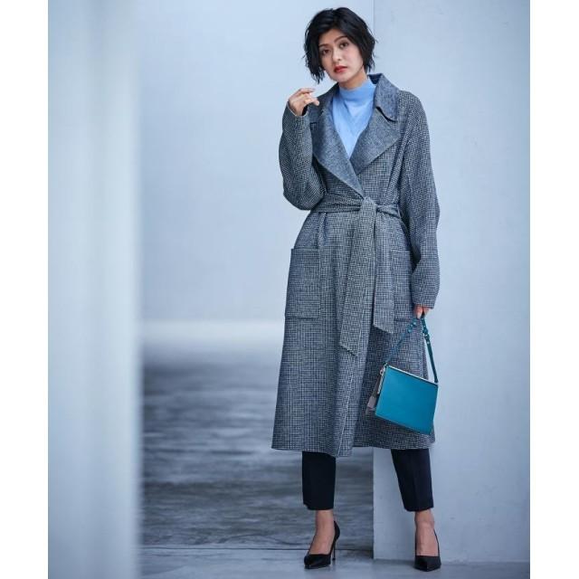 ICB Wool Rever トレンチ型コート レディース ブラック系 4 【ICB】