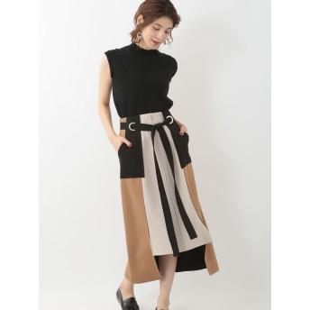 【5,000円以上お買物で送料無料】【WEB先行予約】【Eimee Law】ハトメボンディングタイトスカート