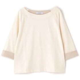 【37%OFF】 ヒューマンウーマン ラグランバスクシャツ レディース キナリ1 M 【HUMAN WOMAN】 【タイムセール開催中】