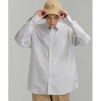 グリーンレーベルリラクシング CM ★★GLR ロゴバギーシャツ # メンズ WHITE XL 【green label relaxing】