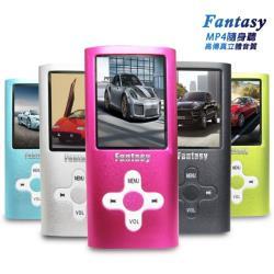 【B1824D】Fantasy 十字款插卡式1.8吋彩色螢幕 MP4隨身聽(加32G記憶卡)(送6大好禮)