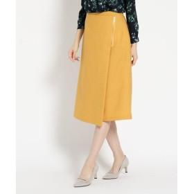 INDIVI / インディヴィ ◆[S]フラッカーサ  ラップ風スカート
