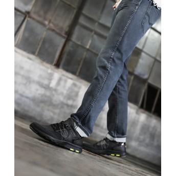 【オンワード】 ROCKPORT(ロックポート) 【MEN】レッツウォーク メンズ メッシュ バンジー ブラック 27cm メンズ 【送料無料】