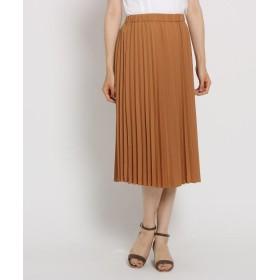 Sunauna スーナウーナ リバーシブルフラワープリーツスカート