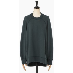 <FLORENT/フローレント> OVERSIZED SWEAT SHIRT 45 D.GRN【三越・伊勢丹/公式】