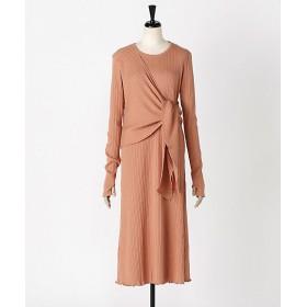 <KOTONA/コトナ> rib long dress pink 【三越・伊勢丹/公式】