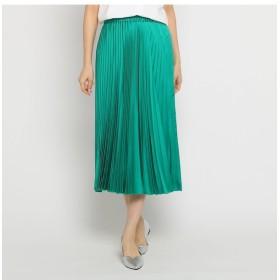【インディヴィ/INDIVI】 [L]ライトプリーツスカート