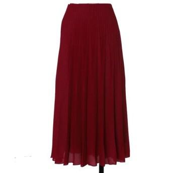 ef-de L / エフデ(エルサイズ) 《大きいサイズ》ラメプリーツスカート《Maglie par ef-de》