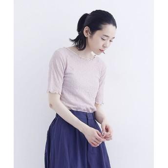 メルロー メローカット総レースブラウス レディース ピンク FREE 【merlot】