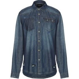 《期間限定 セール開催中》SCOTCH & SODA メンズ デニムシャツ ブルー L コットン 100%