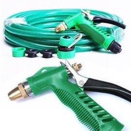 洗車水槍 高壓 車家兩用 黃銅水槍頭 套裝20米 -5201005