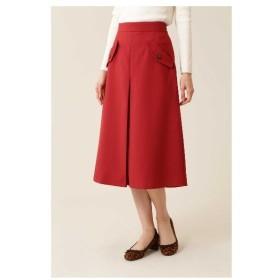 NATURAL BEAUTY BASIC(ナチュラルビューティーベーシック)[洗える]フラップポケットAラインスカート