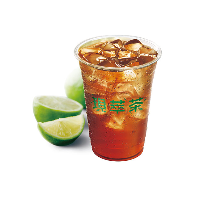 現萃茶 冰一顆檸檬紅茶(特大杯)
