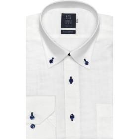 [マルイ]【セール】形態安定 ノーアイロン Wガーゼ長袖ワイシャツ ドゥエボットーニ ボタンダウン 標準体/ブリックハウス(BRICKHOUSE)