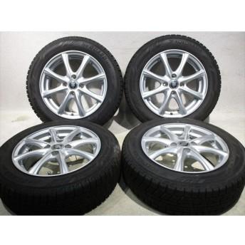 ホイールタイヤ 4本セット 175/65R15 社外 4S 8本スポーク 新品 スタッドレス タイヤ ブリヂストン ブリザック VRX