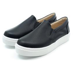 【 101大尺碼女鞋】41-44碼 MIT厚底簡約休閒百搭美鞋 白/粉/黑 -08108020070-18