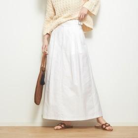 [マルイ] モールスキンクロップドスカート/カトルナフ(Quatre-Neuf)
