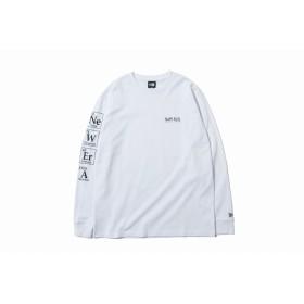 NEW ERA ニューエラ 長袖 コットン Tシャツ エレメントシンボル ホワイト ロンT 長袖 ウェア メンズ レディース Large 12108239 NEWERA