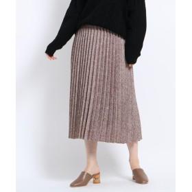 AG by aquagirl(エージー バイ アクアガール) 【JELLY12月号掲載】ツイードプリーツスカート