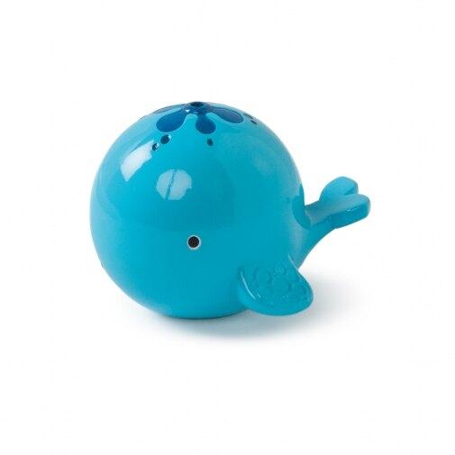 美國 Kids II-Oball 洞動洗澡歡樂鯨魚【紫貝殼】