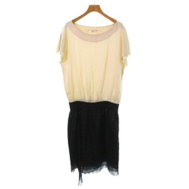 TSUMORI CHISATO DRESS / ツモリチサトドレス レディース ワンピース 色:ベージュ サイズ:2(M位)