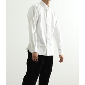エーイーアール アダム エ ロペ/OXBDガゼットシャツ/ホワイト/L