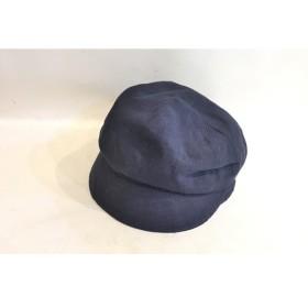 二子玉) ヴィヴィアンウエストウッド リネンハット 麻 帽子 ネイビー 未使用 サイズ調整可能 手洗いOK S-M 定価11,880円
