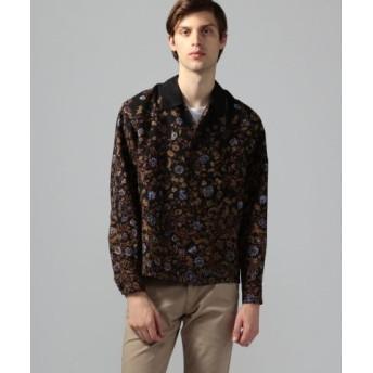 (TOMORROWLAND/トゥモローランド)フラワープリント シャツジャケット/メンズ 18ブラック系 送料無料