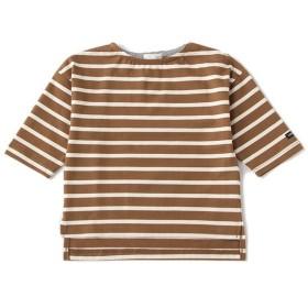 [マルイ] 肩落ちボートネックTシャツ/ビールーム(キッズ)(b-ROOM)